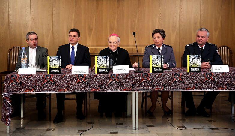 Konferencja w sprawie uprowadzonego duchownego