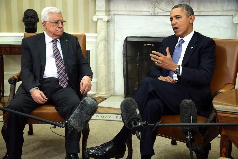 Obama z Abbasem rozmawiają o pokoju na Bliskim Wschodzie