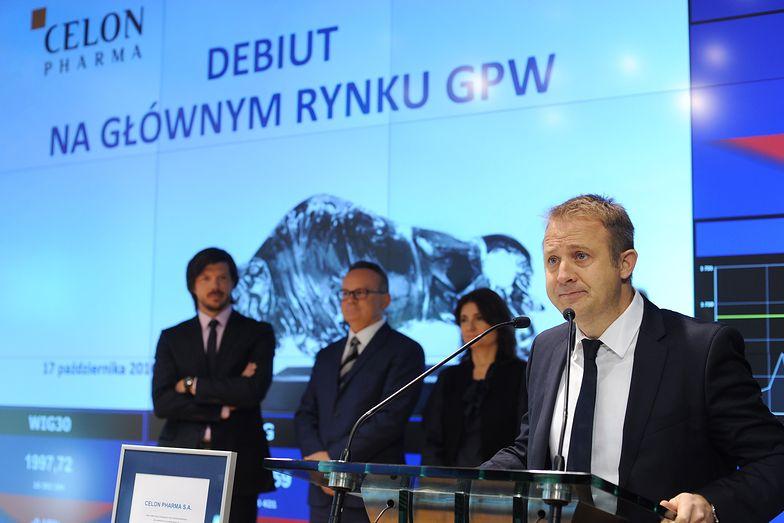 Maciej Wieczorek, prezes i założyciel Celon Pharma.