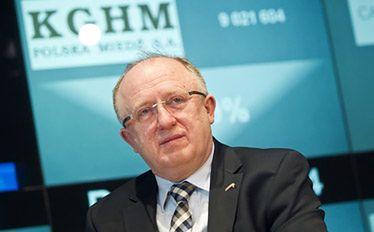 prezes KGHM Herbert Wirth