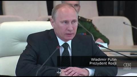 Putin nadzoruje ćwiczenia wojskowe z udziałem rosyjskich sił nuklearnych