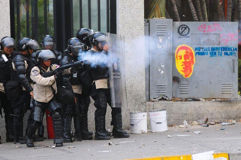 Protesty w Wenezueli. Zastrzelono uczestnika manifestacji