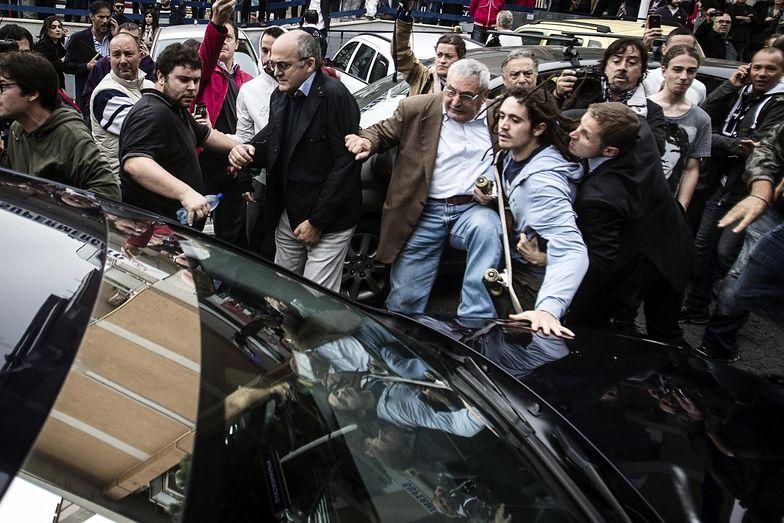 Protesty we Włoszech podczas uroczystości pogrzebowych Priebkego