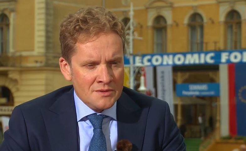 Adama Sawickiego, prezesa T-Mobile Polska