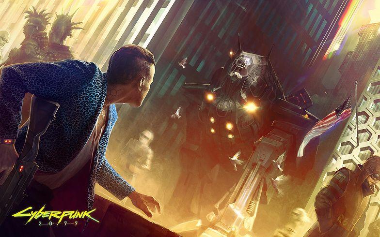 """Materiały prasowe gry """"Cyberpunk 2077"""""""