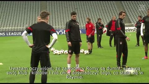 Roma nie chce znowu zawieść - Guardiola
