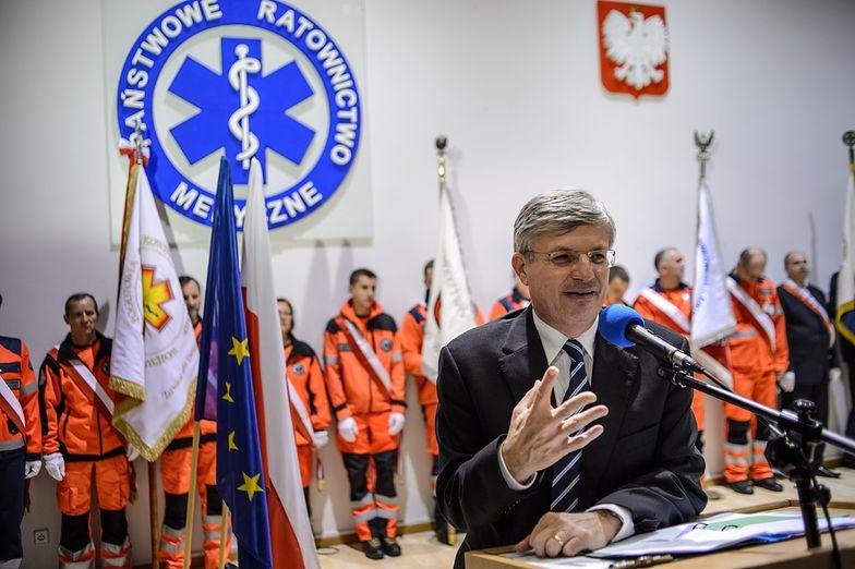 Służby ratunkowe w Polsce. Przedstawiciel Unii: macie nasze pełne wsparcie