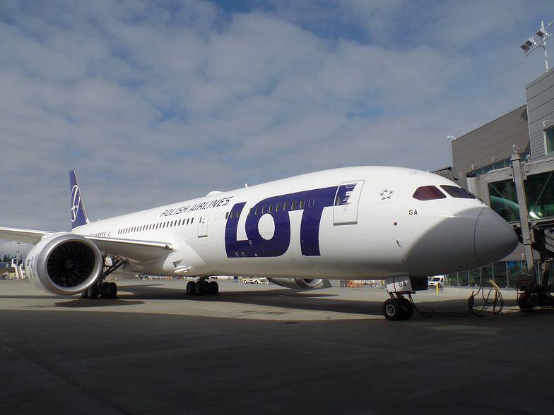 Pierwszy Boeing 787-9 Dreamliner we flocie LOT
