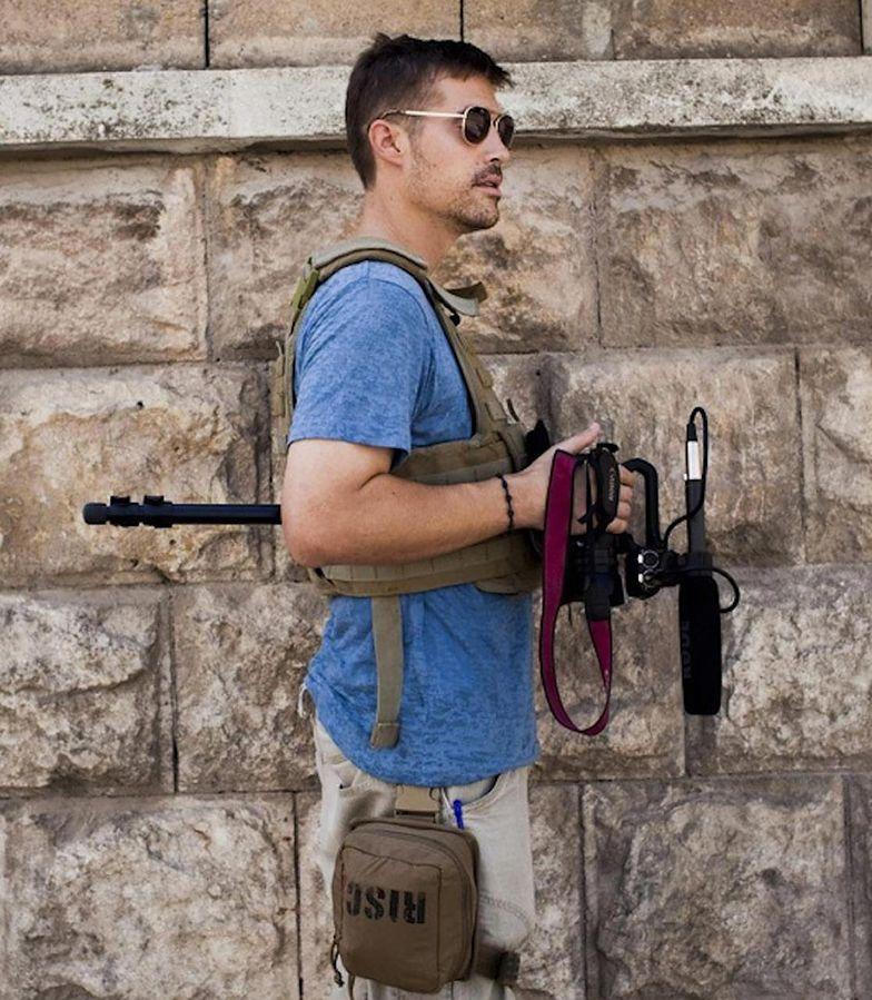 James Foley przed porwaniem w 2012 r.