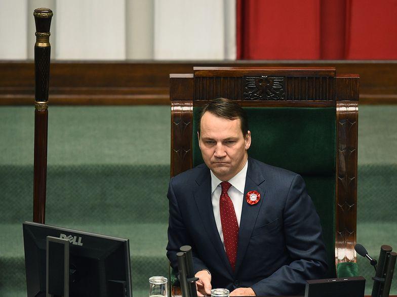 Sikorski straci fotel? Jutro głosowanie w Sejmie i sprawozdanie Schetyny