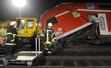 Wypadek kolejowy w Niemczech. Są ofiary