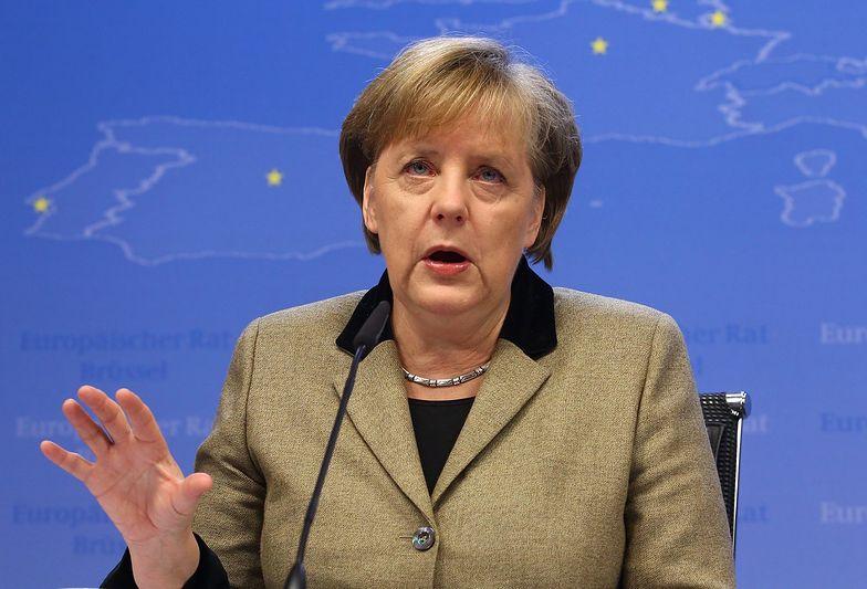 Angela Merkel negocjuje warunki ratowania strefy euro