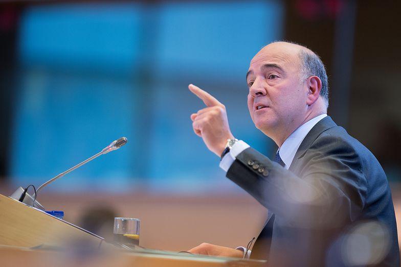 Unijny komisarz ds. gospodarczych Pierre Moscovici.