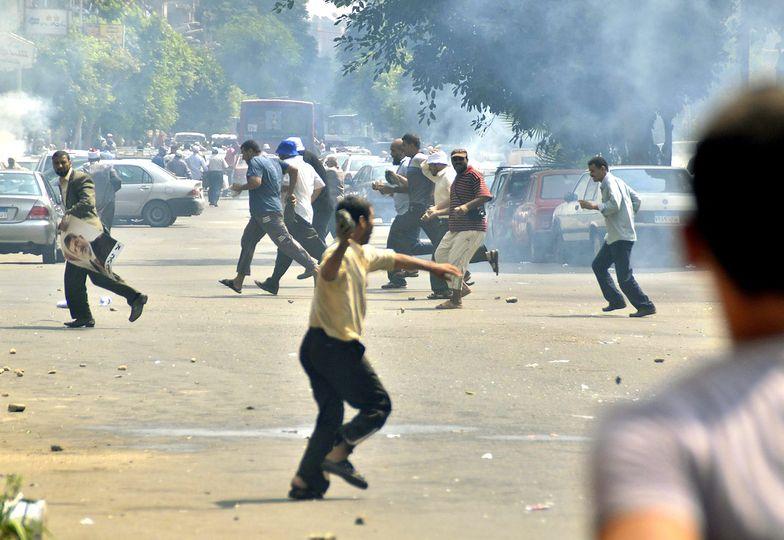 Krwawe starcia w Egipcie. Już 250 zabitych