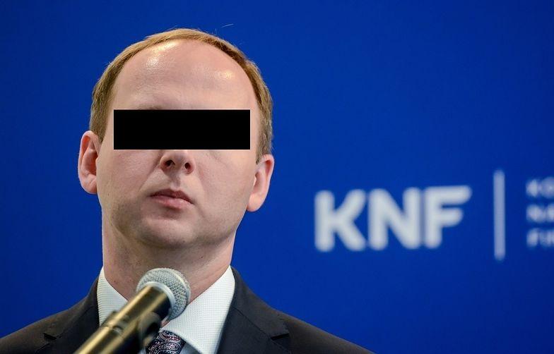 Afera KNF. Marek Ch. z zarzutami