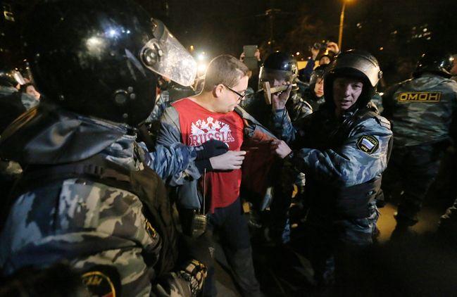 Zamieszki w Moskwie. Powodem zabójstwo