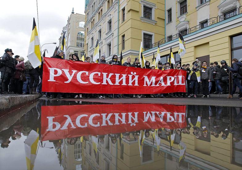 Manifestacje nacjonalistów w Moskwie i innych miastach