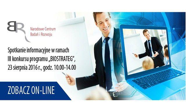 Spotkanie informacyjne w ramach III Konkursu Programu BIOSTRATEG
