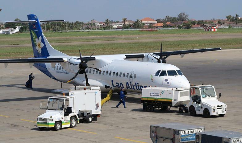 ATR 72 - to tego typu samolot rozbił się w Laosie (zdjęcie archiwalne)</br>