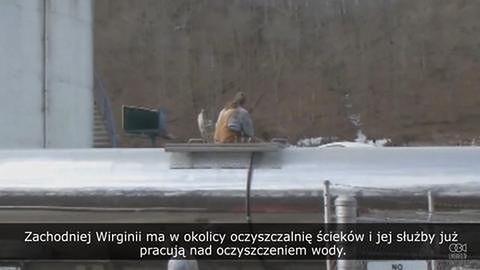 Chemiczne zanieczyszczenie wody w 9 hrabstwach Wirginii Zachodniej.