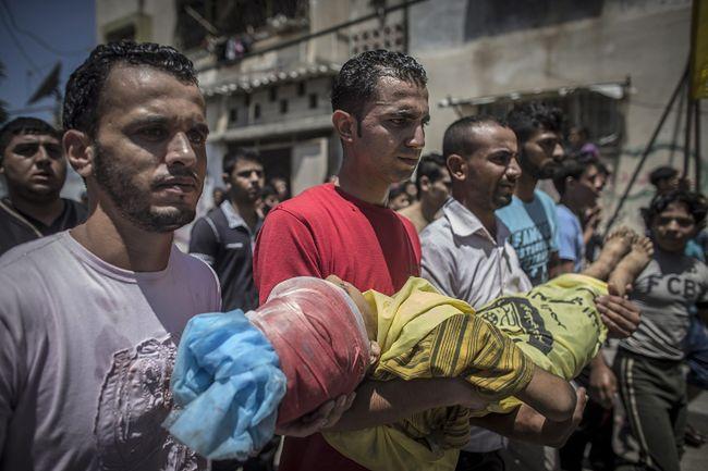 Szokujący raport. Izraelczycy zabili 447 dzieci
