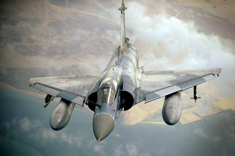 Mirage 2000 - m. in. tego typu samoloty mają u nas stacjonować</br>