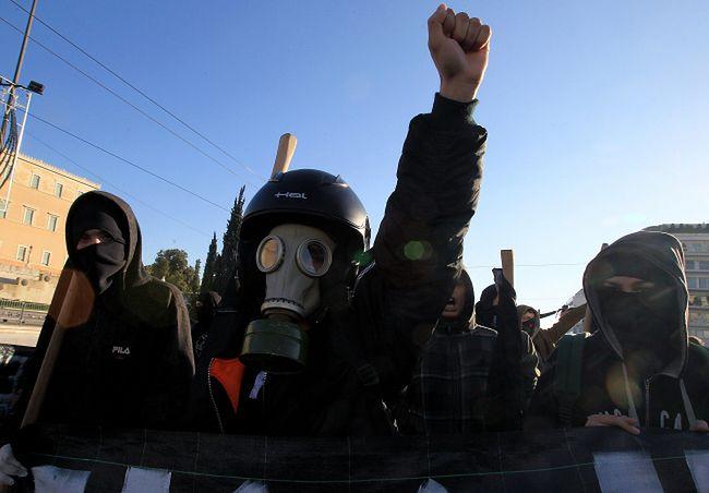 Kryzys w Grecji. Demonstracje w rocznicę zabicia nastolatka