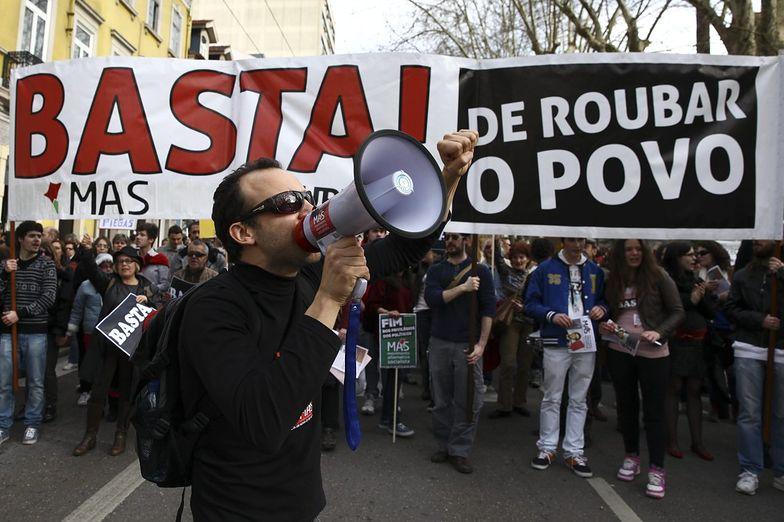 Kryzys w Portugalii. Największe od dwóch lat demonstracje antyrządowe