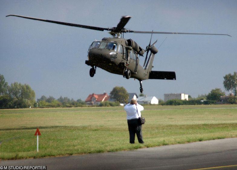 Na zdjęciu UH-60M Black Hawk podczas pokazów Radom Air Show.