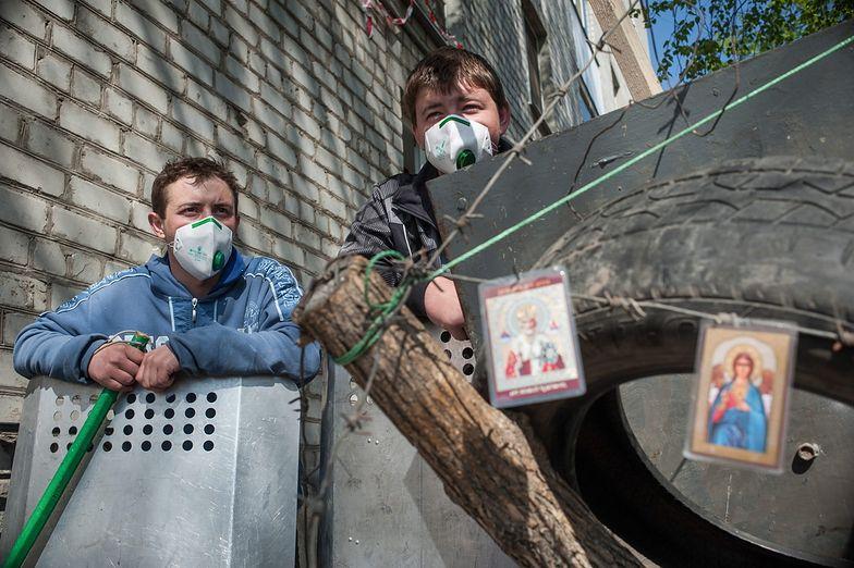 Konflikt na Ukrainie. Polak wśród porwanych w Słowiańsku