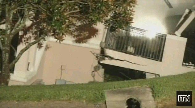 Hotel na Florydzie zapadł się pod ziemię