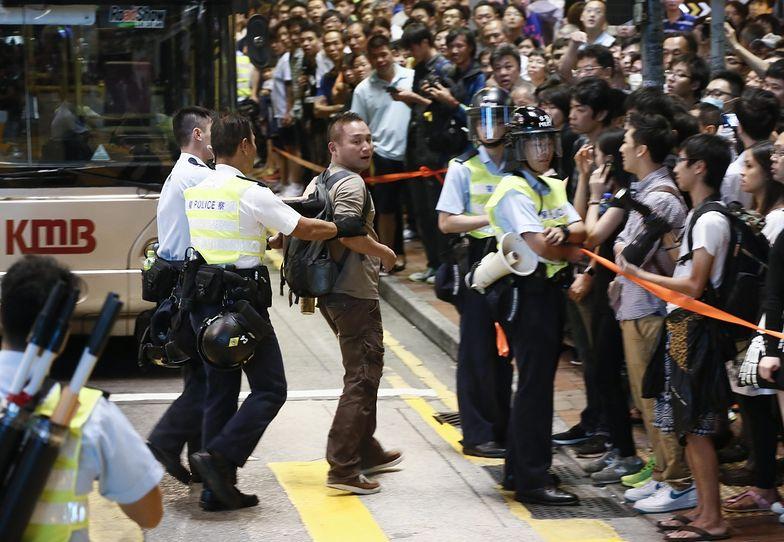 Protesty w Hongkongu. Kolejne starcia z policją