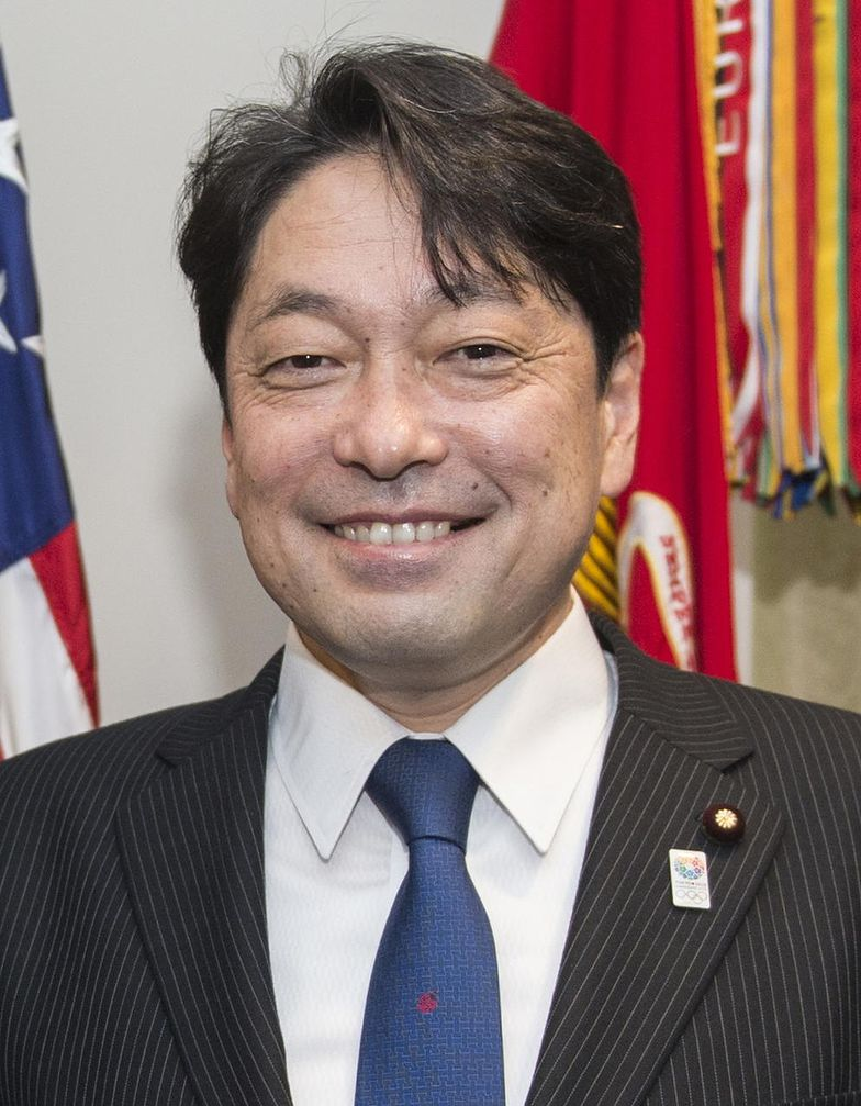 Japoński minister obrony Itsunori Onodera