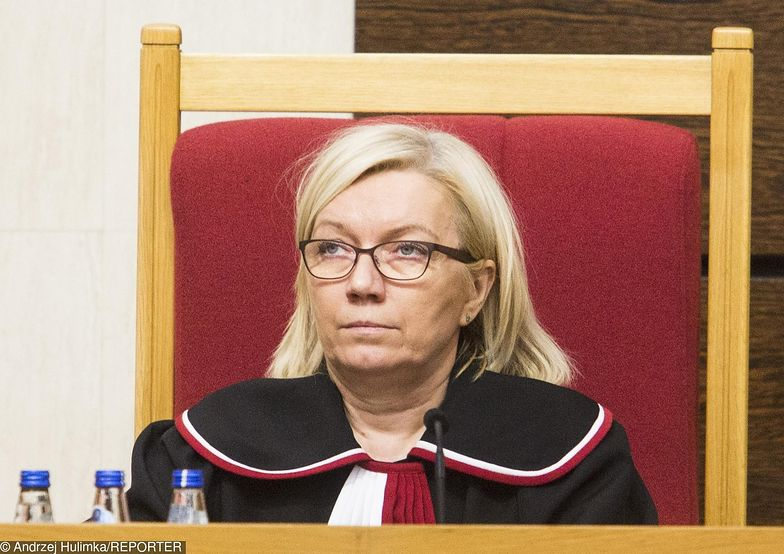 Prezes TK Julia Przyłebska zgłosiła zdanie odrębne do wyroku