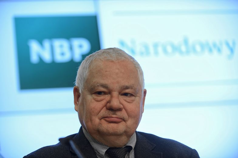 Adam Glapiński jest prezesem NBP od 2016 roku.