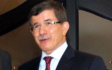 Turecki minister spraw zagranicznych Ahmet Davutoglu