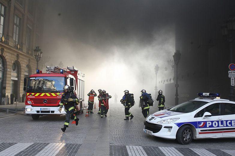 Gwałtowne burze przechodzą nad Francją