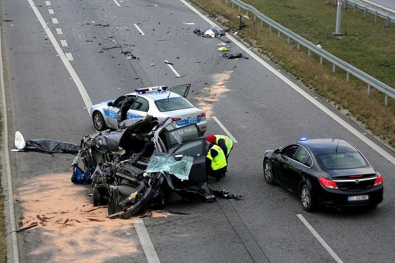 Wypadek na A2. Autostrada w kierunku Warszawy była zablokowana