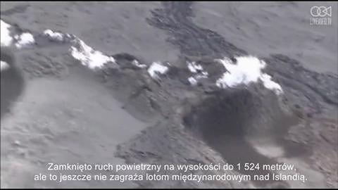 Erupcja wulkanu zmusza władze do podniesienia poziomu alarmu.