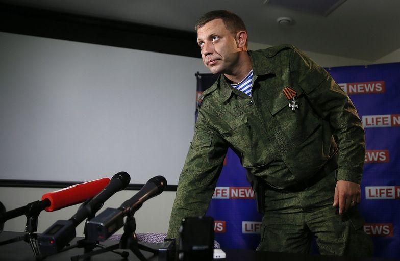 Aleksandr Zacharczenko,samozwańcza Doniecka Republika