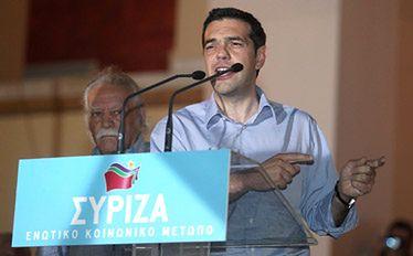 Grecja: Lider Syrizy wyklucza udział w koalicji