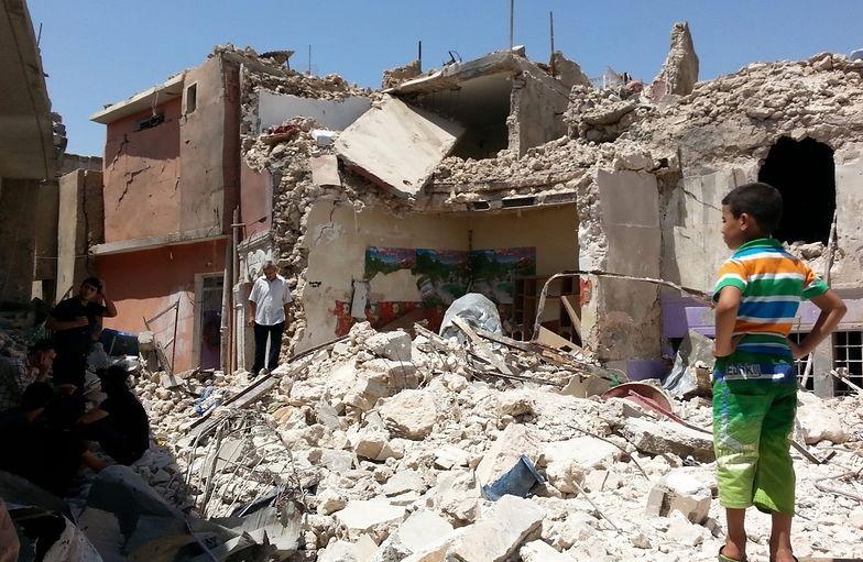 Zniszczony Mosul - zdjęcie z 4 sierpnia