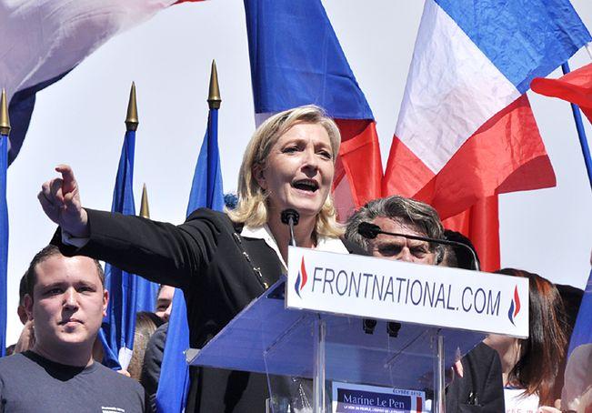 Marine Le Pen zapowiada referendum ws. członkostwa Francji w UE