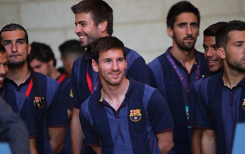 Piłkarze FC Barcelona będą trenowali z żydowskimi i arabskimi dziećmi