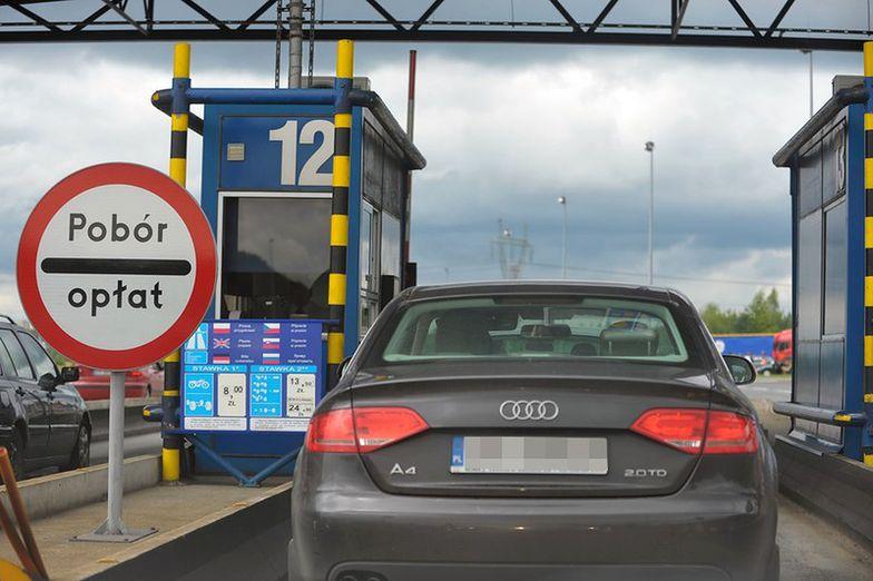 Małopolskie: zablokowana autostrada A4 w kierunku Katowic