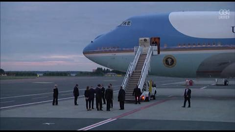 Prezydent Obama przybył na spotkanie z liderami Estonii, Łotwy i Litwy