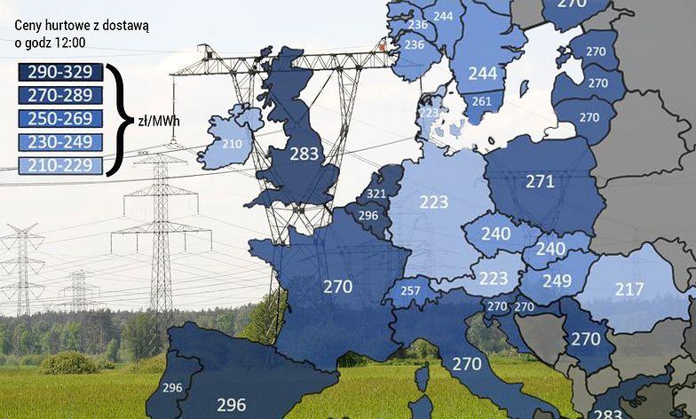 Klimatyzacja w Europie zużywa więcej prądu niż cała Polska