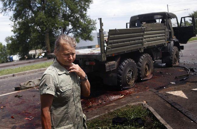 Sytuacja na Ukrainie. Tragiczny bilans ostatniej doby
