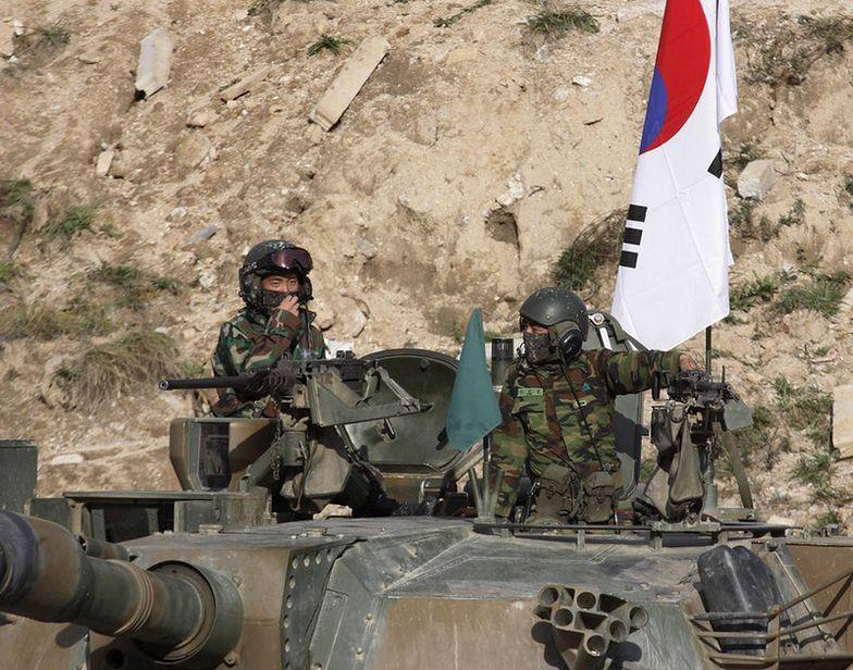 Ostra wymiana ognia na granicy koreańskiej