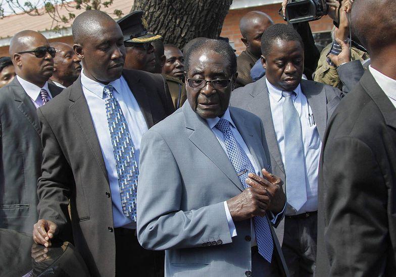 Wybory prezydenckie w Zimbabwe wygrał Mugabe